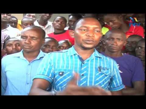 Kajiado Youth Demand Jobs From Soda Ash Company