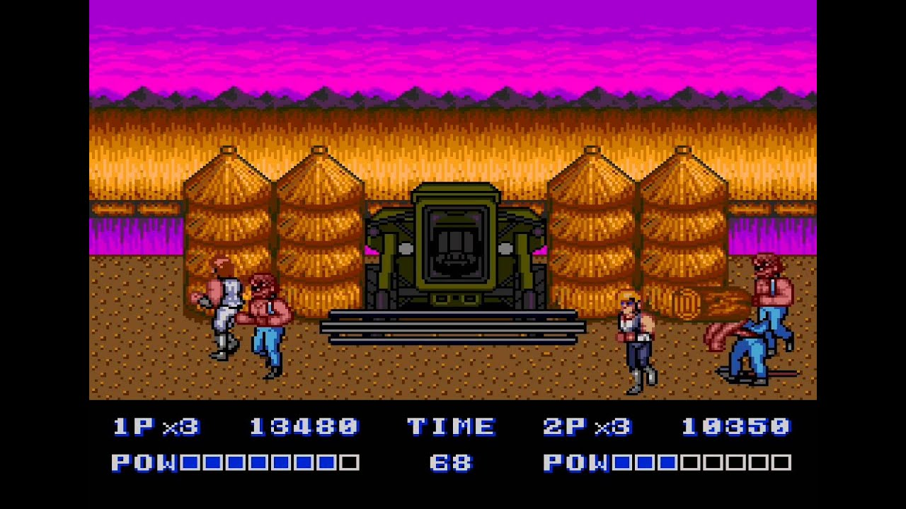 Double Dragon 2 Play Online