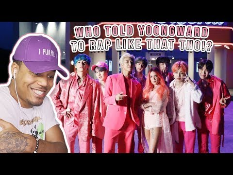 Reacting To BTS- Boy With Luv feat Halsey  MV