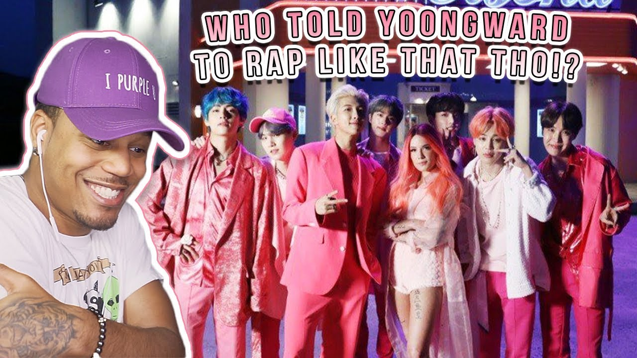 Reacting To BTS- Boy With Luv feat. Halsey Official MV