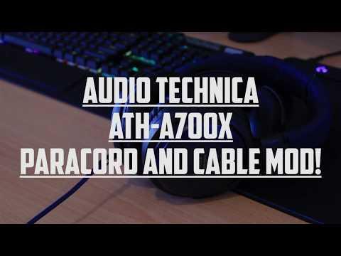 Headphone Detachable Cable Mod - AT A700X Mods! (Part 1)