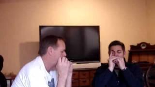 Paul Davies and Ronnie Shellist harmonica jam 1