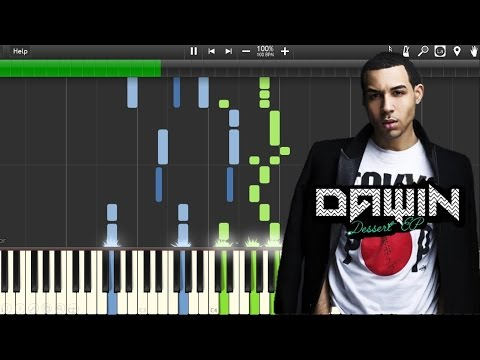 Dawin - Dessert ft. Silento (Piano Synthesia+Tutorial+Sheet)