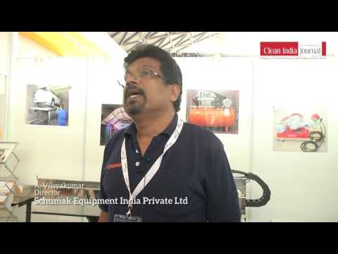 Schumak Equipment India Private Ltd At Clean India Technology Week 2017