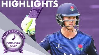 QUARTER-FINAL | Middlesex v Lancashire | Royal London One-Day Cup 2019 - Highlights