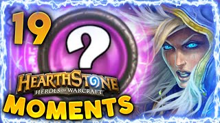 Hearthstone Funny Moments #19 - Daily Hearthstone Best Moments Epic Lucky Funny Plays   Mage Secrets