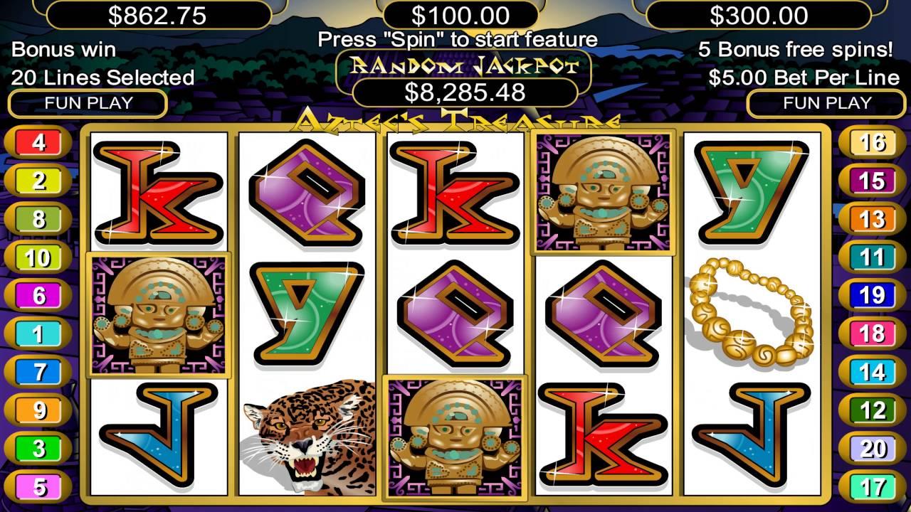 Free Aztec Treasure Slot Machine Online