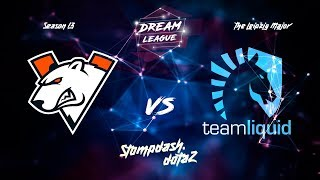 🔴VIRTUS PRO(VP) VS LIQUID| BO1 | DREAMLEAGUE MAJOR | PLAY-OFF | МАТЧ НА ВЫЛЕТ!