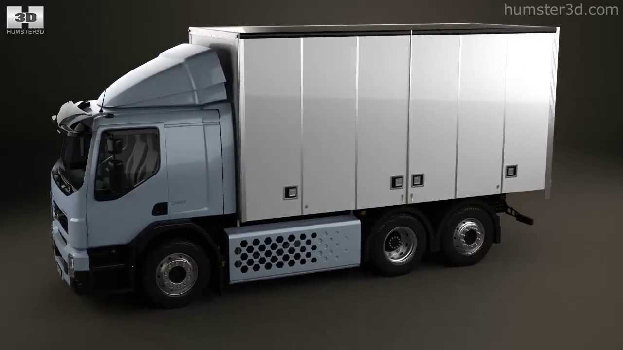 Volvo Fe Hybrid Box Truck 2017 By Model Humster