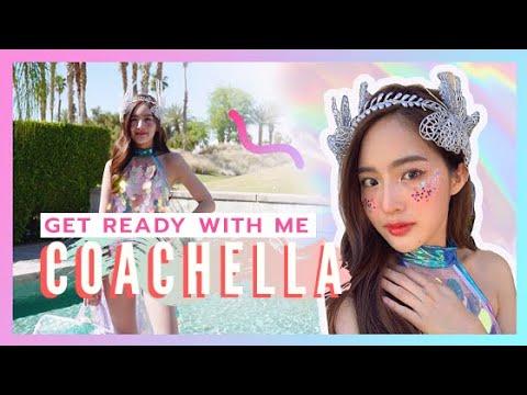 แต่งหน้าวิ้งๆ ไปซิ่งที่ Coachella l WJMILD STYLE