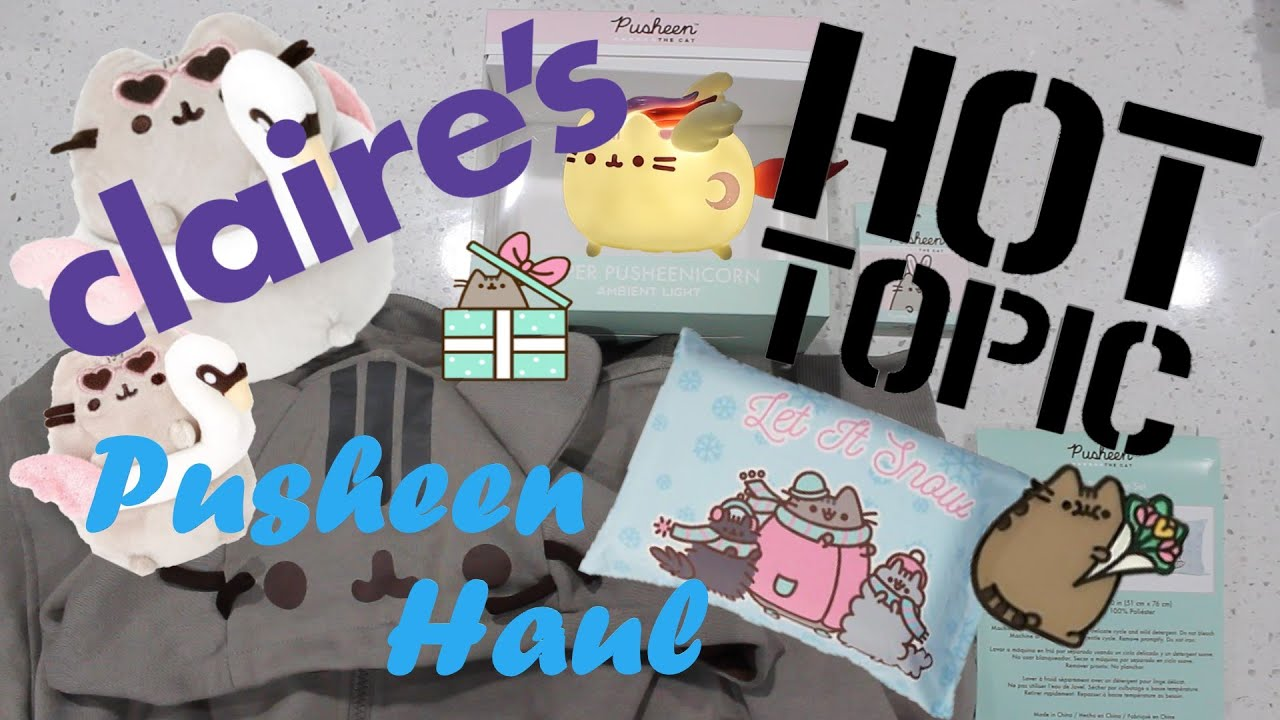 🔥 Hot Topic and Claire's Pusheen Haul - New Plush and Merch!
