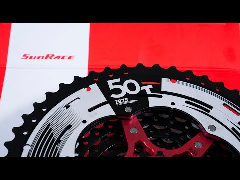 408c2a77eb3 Sunrace 11-50T 12 speed cassette on Chris King Shimano freehub body