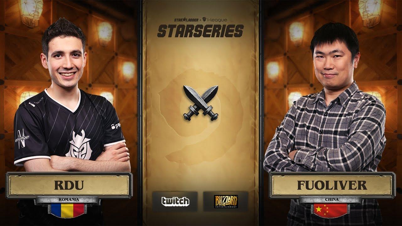 [EN] RDU vs Fuoliver | SL i-League Hearthstone StarSeries Season 3 (10.06.2017)