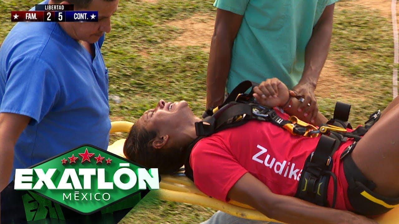 ¡Zudikey sufre un TERRIBLE accidente! | Episodio 110 | Exatlón México