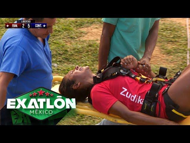 ¡Zudikey sufre un TERRIBLE accidente!   Episodio 110   Exatlón México