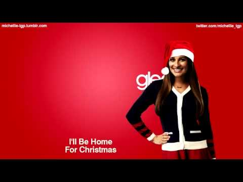 Ill Be Home For Christmas Cast.I Ll Be Home For Christmas Glee Cast Version