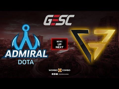 Admiral vs Clutch Gamers Game 1 | GESC: Thailand SEA Qualifiers (Bo3)