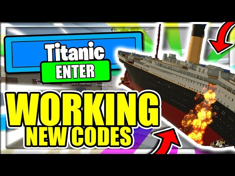 Roblox Titanic Codes Roblox July 2020 Mejoress