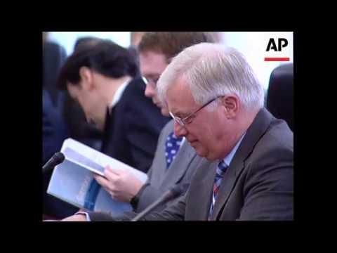 EU External Affairs Commissioner (former HK Governor) Chris Patten visits Beijing