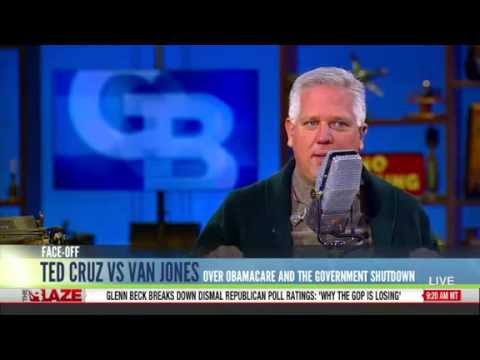Beck Hails Cruz for 'Slapping Down' 'Communist Revolutionary' Van Jones on Crossfire
