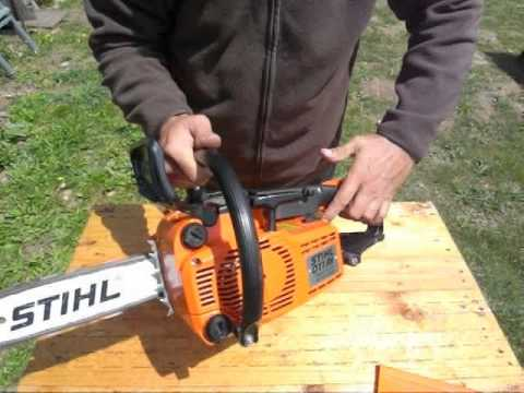 stihl 011 av tronconneuse elagueuse stihl chainsaw stihl motors ge youtube. Black Bedroom Furniture Sets. Home Design Ideas
