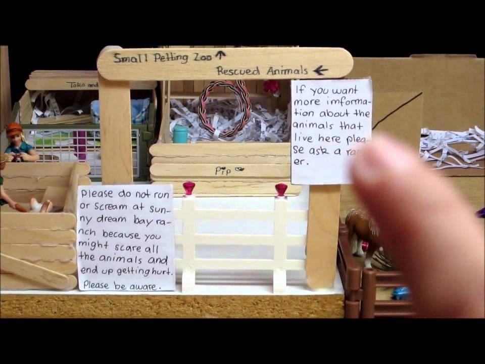 Schleich Barn Tour Quot Sunny Dream Bay Ranch Quot Part 1 Youtube