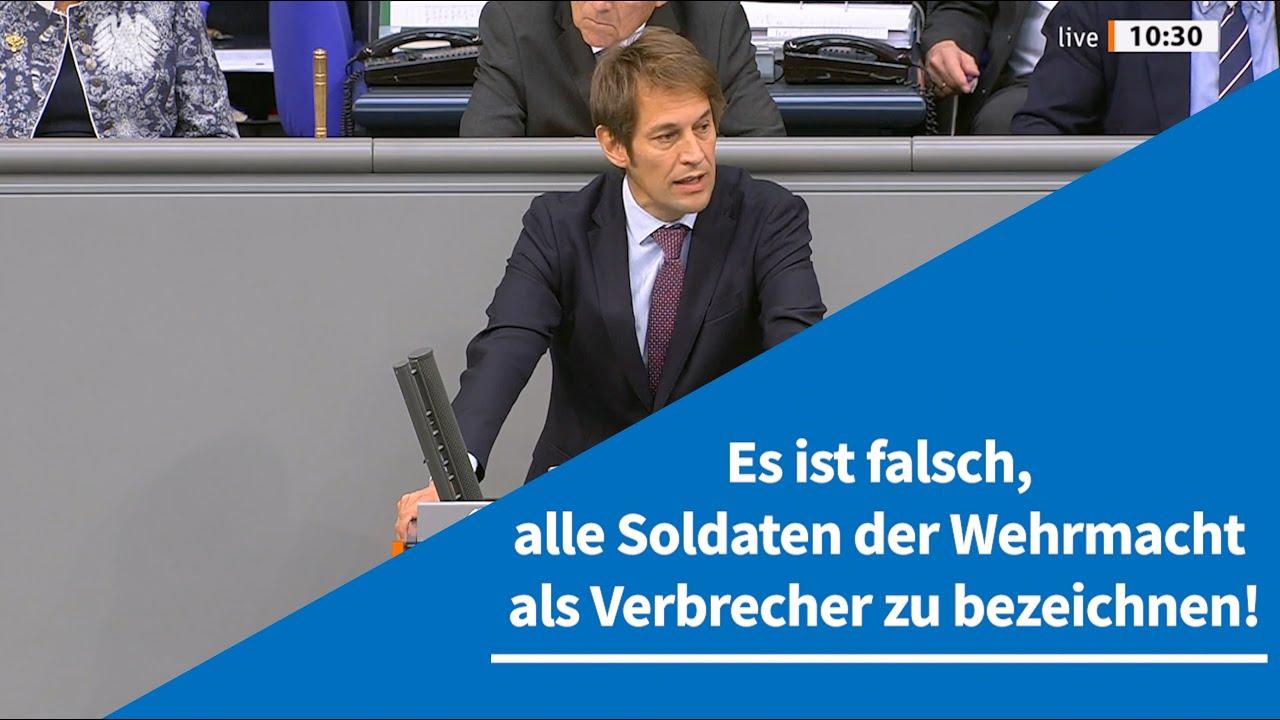 09.10.2020 Es ist falsch, alle Soldaten der Wehrmacht als Verbrecher zu bezeichnen!