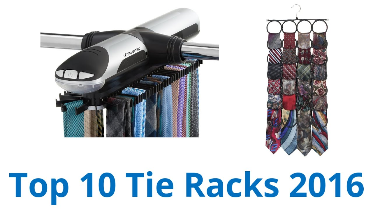 10 Best Tie Racks 2016 - YouTube