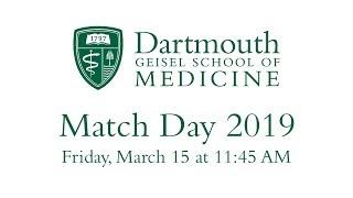 Match Day 2019 - Geisel School of Medicine at Dartmouth