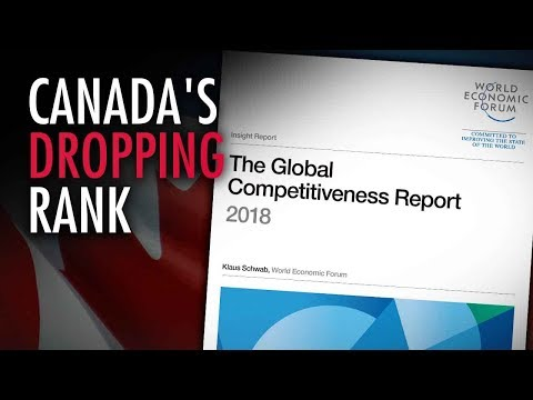 Canada plunges in World Economic Forum global competitiveness ranking