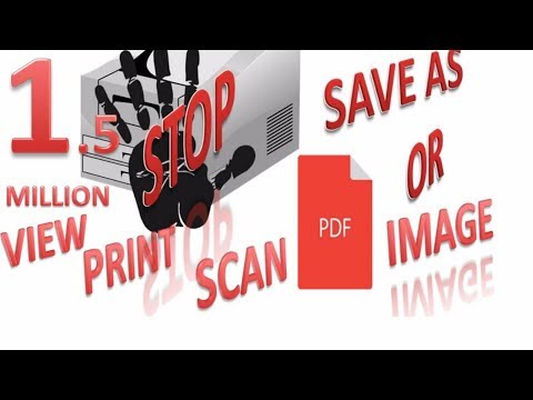 How To EASILY convert Document to PDF or image Files