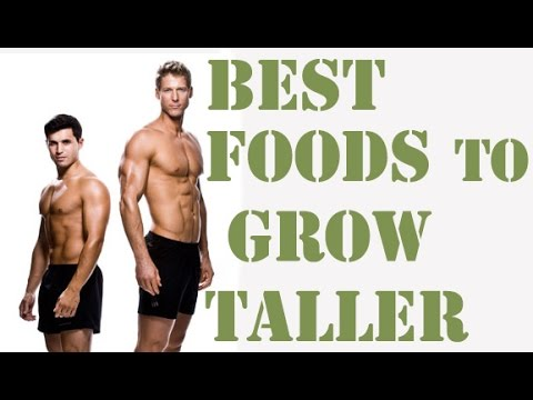 TOP 10 Foods that Help You Grow Taller