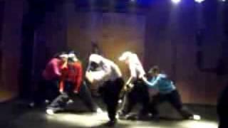 Hip-Hop на видео. Обучение танцам.flv