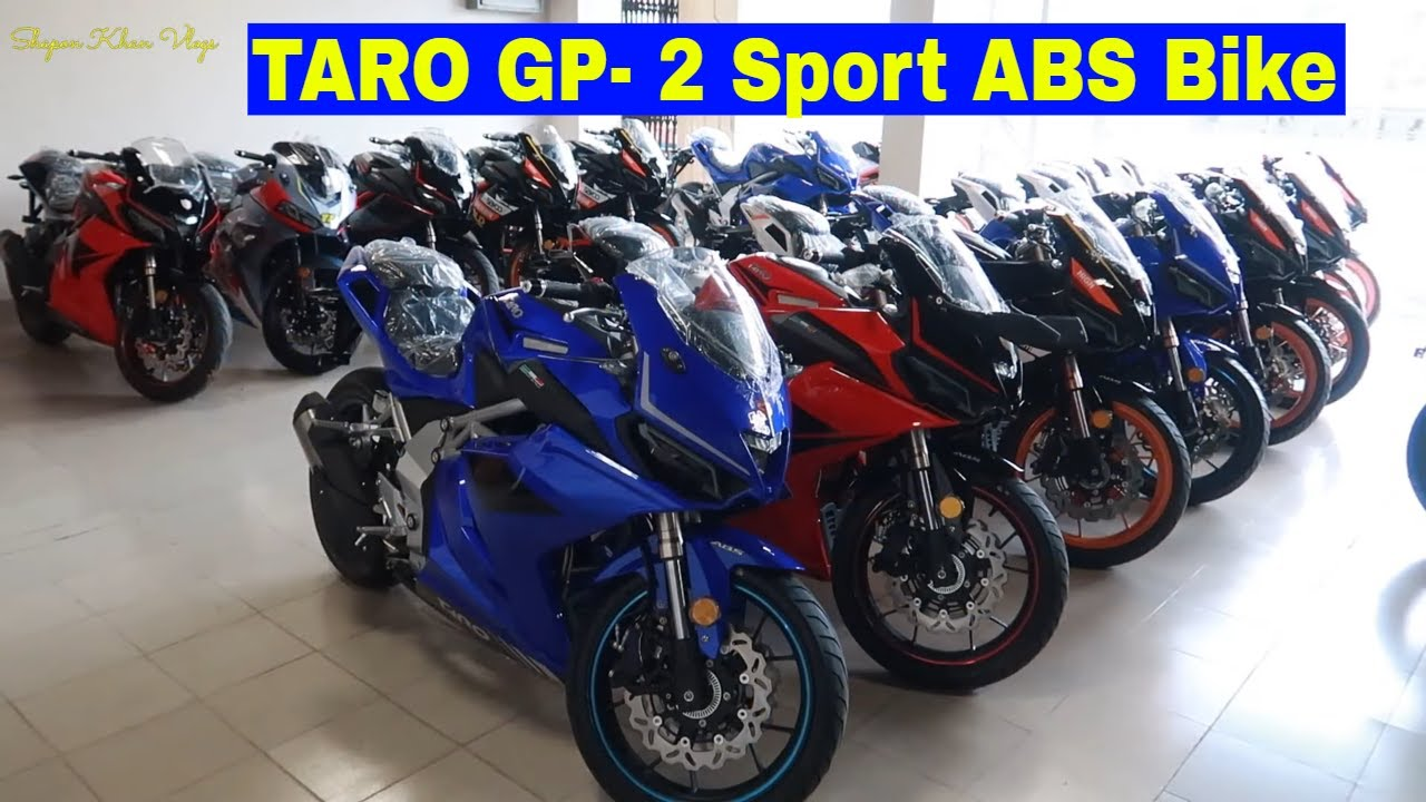Download TARO GP One Special Edition With ABS+CBS  First Impression   Bike vlogs   Shapon Khan Vlogs