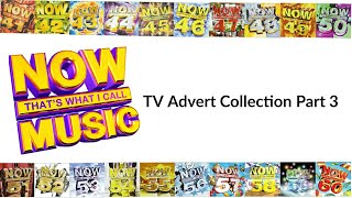 Now That's What I Call Music TV Advert Collection Part (3/5)