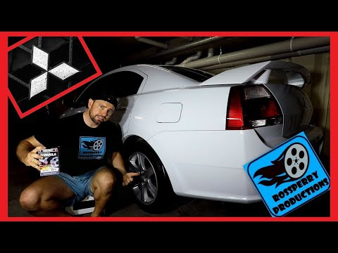 Mitsubishi 380 Galant How To Replace Rear Brake Pads DIY Replacement Tutorial