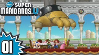 New Super Mario Bros. U - Episode 01