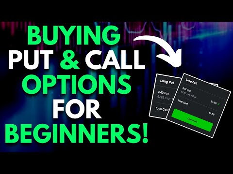 BUYING PUT OPTIONS AND CALL OPTIONS | ROBINHOOD INVESTING