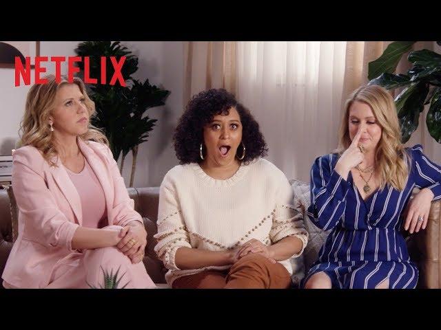Tia Mowry, Melissa Joan Hart + Jodie Sweetin Play Never Have I Ever   Netflix