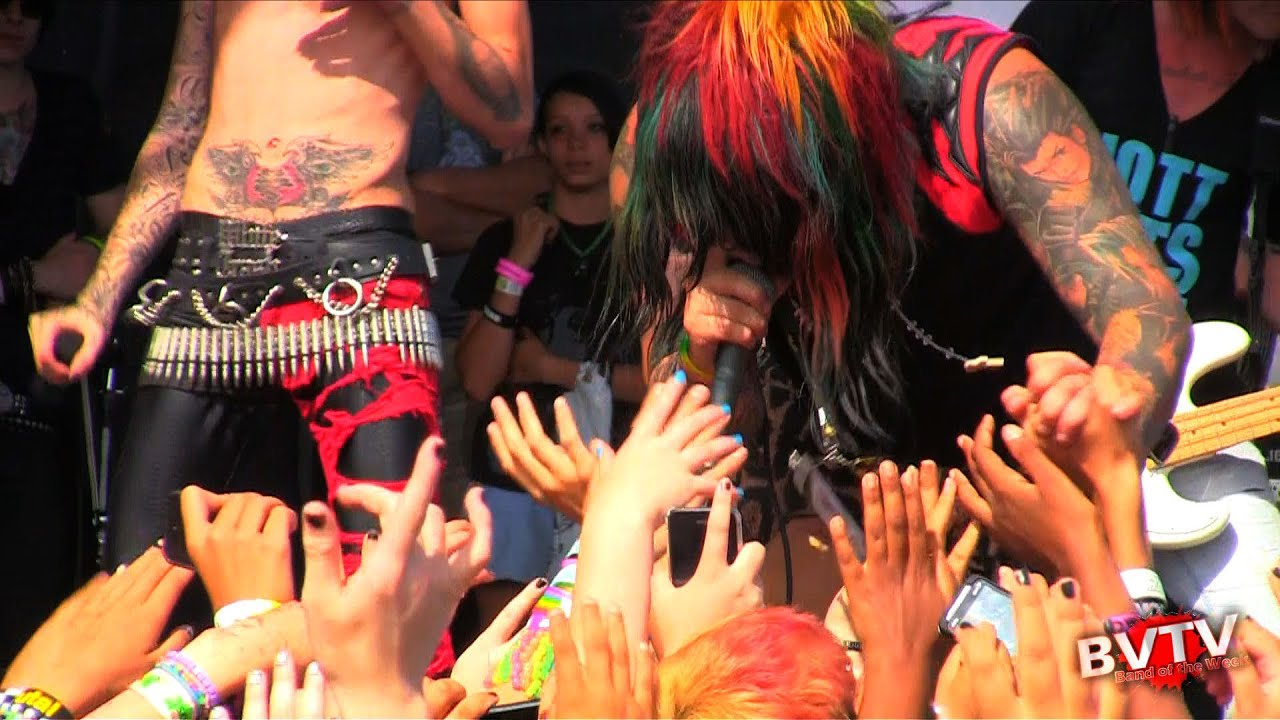 Blood On The Dance Floor Bewitched Live In Hd At Warped Tour