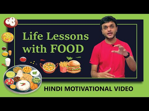 Life Lessons from Food | Hindi Motivational Advice | Vasant Chauhan