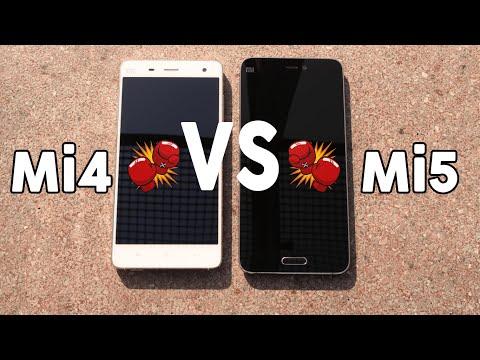 Xiaomi Mi4 vs Mi5 - ¿Merece la pena el cambio?