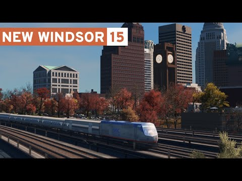 Central Train Station - Cities Skylines: New Windsor - Part 15 -
