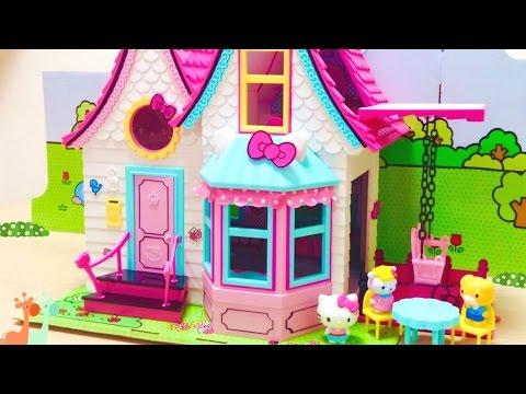ハローキティのかわいいお家 ドールハウス / Hello Kitty Doll House : Cute House