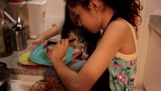 Part 4/4 Natalie And Adriana Make Spiral Lasagna