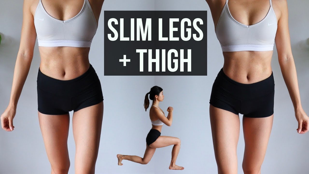 Lose thigh fat before and after