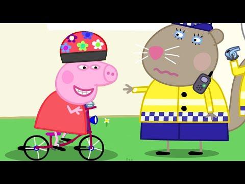 Свинка Пеппа на русском все серии подряд 🚓 Полиция! 🚓 Мультики