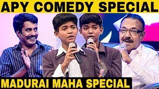 Madurai Maha Comedy collection | Episode 10 | Solo Performance | Asatha Povathu Yaru