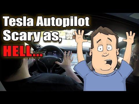 Tesla Autopilot in 700+HP P85D Ludicrous Edition Supercar