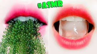 ASMR EATING SEA GRAPE, ICE, ICE CREAM CHOCOLATE (Extreme Eating Sounds) NO TALKING!